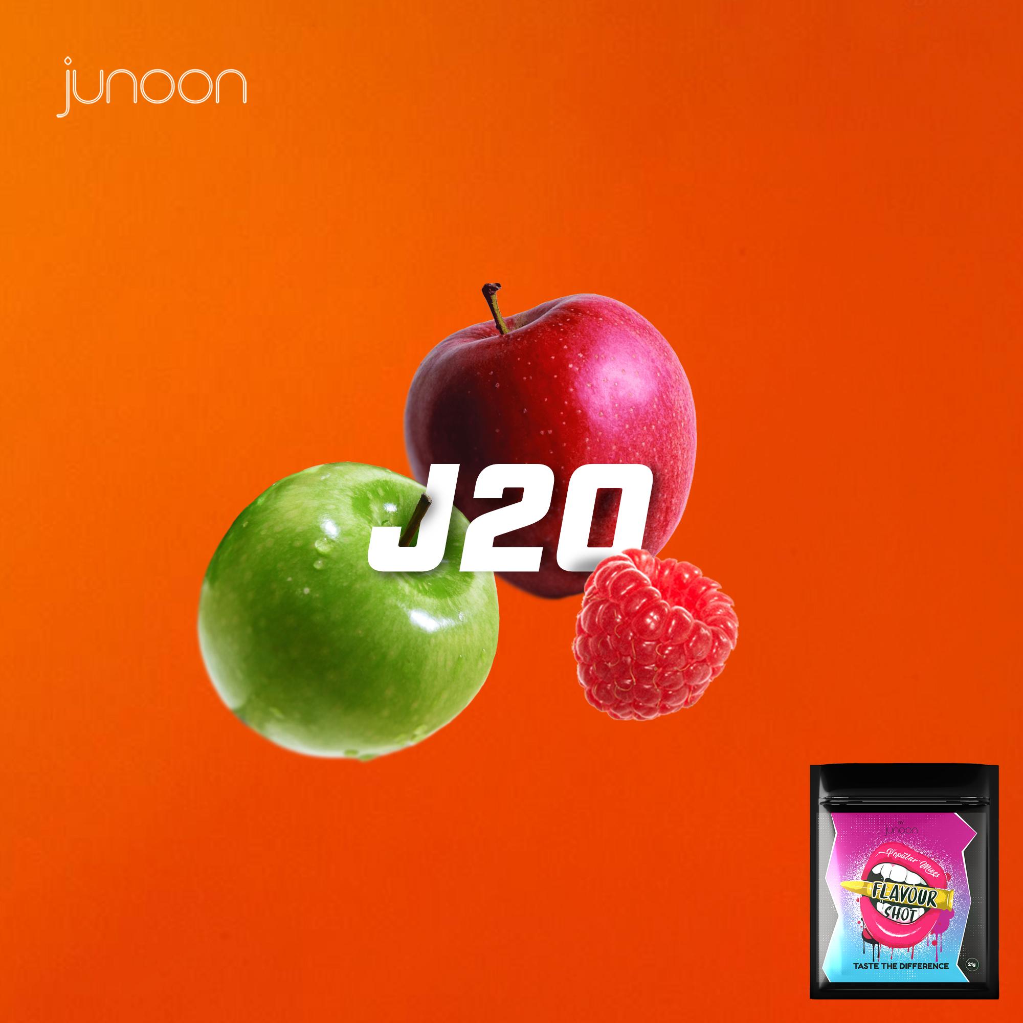 J20 (Apple & Raspberry)